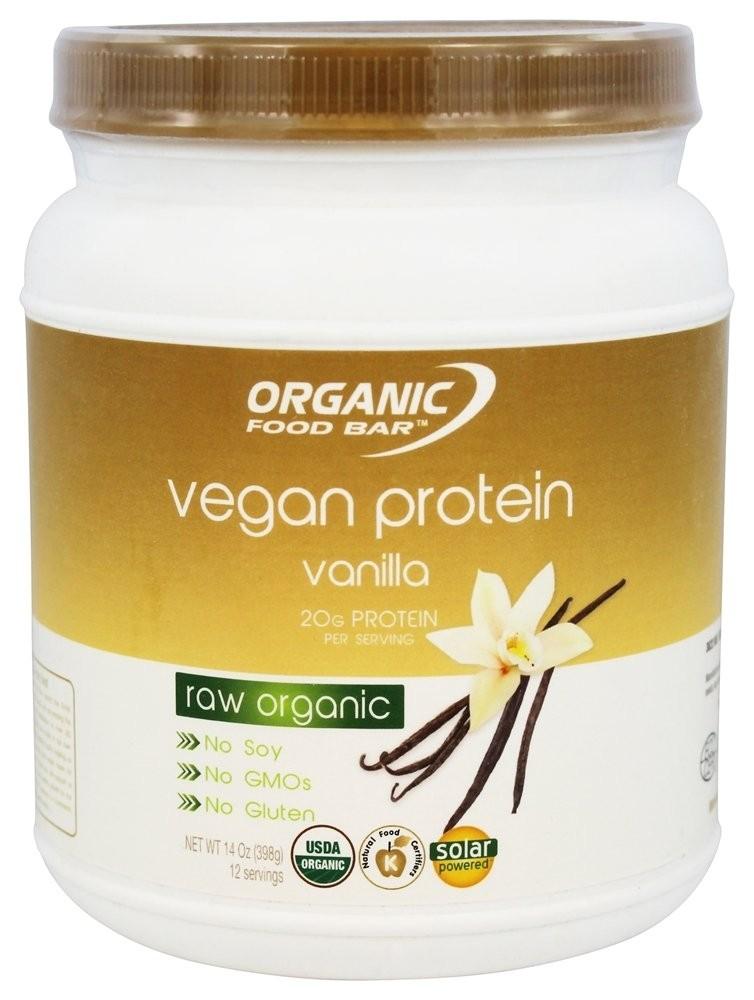 Vegan protein Raw Vanilka OFB - Bio Proteín 433g