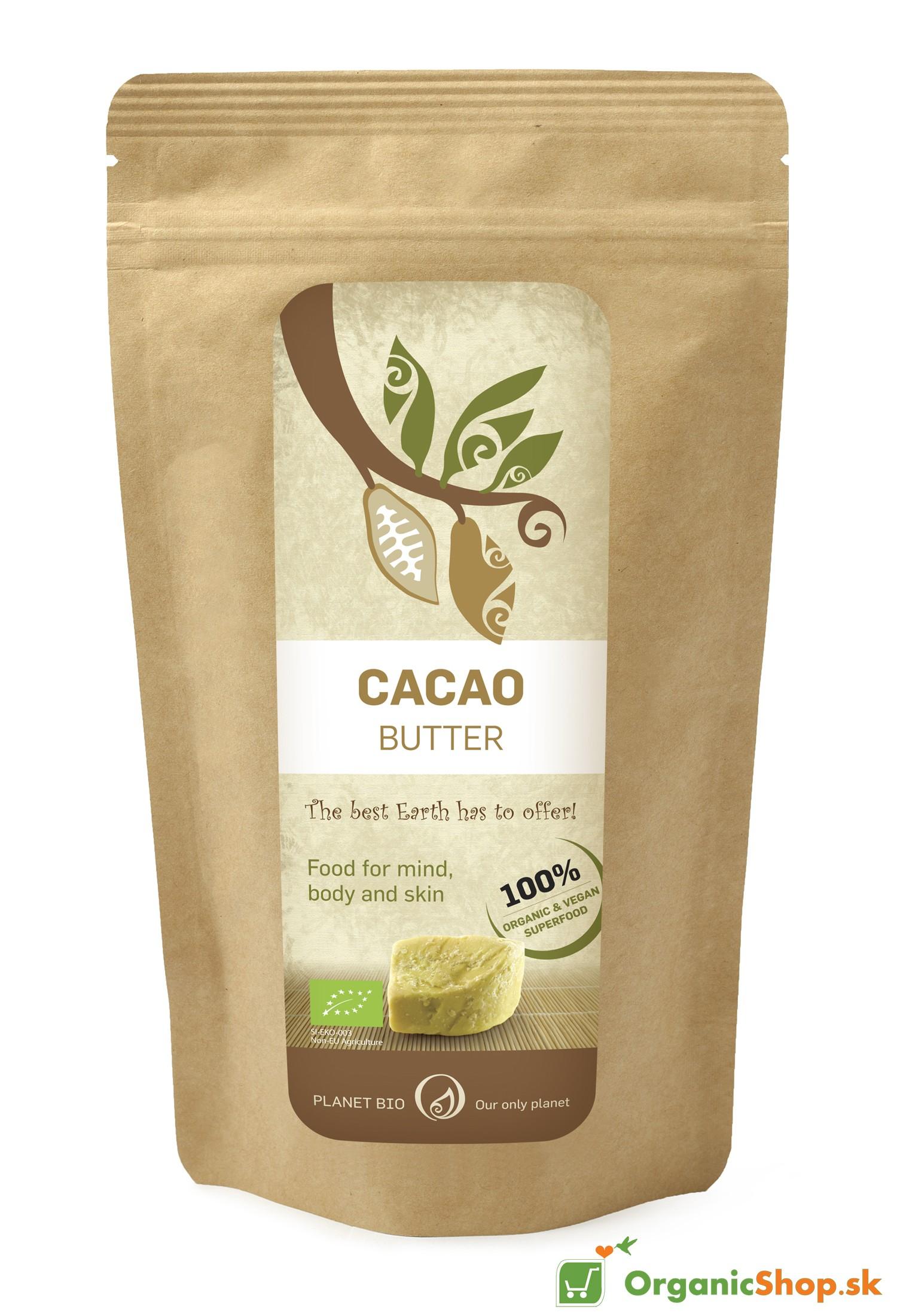 Kakaové maslo RAW&BIO 300 g