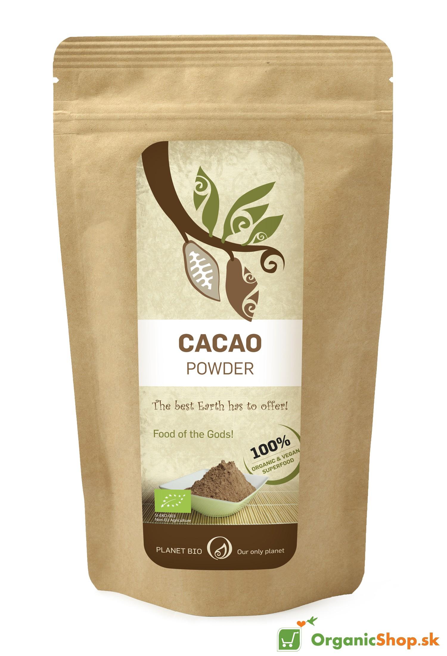 Kakaový prášok Organic Raw BIO 300 g