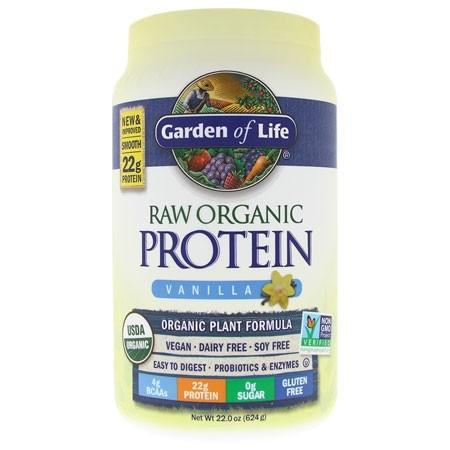 RAW Protein BIO Vanilka Garden of Life 624 g