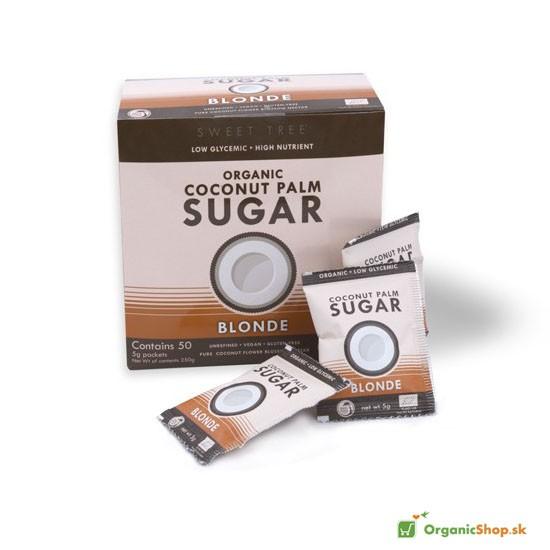 Kokosový cukor BIO porcovaný 50x5g