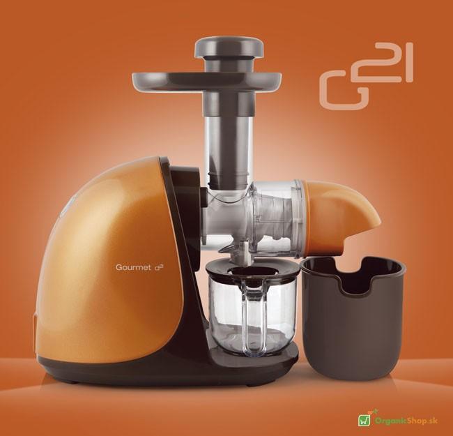 Odšťavovač G21 Gourmet horizontal