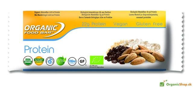 Organic Food Bar PROTEIN 100% RAW