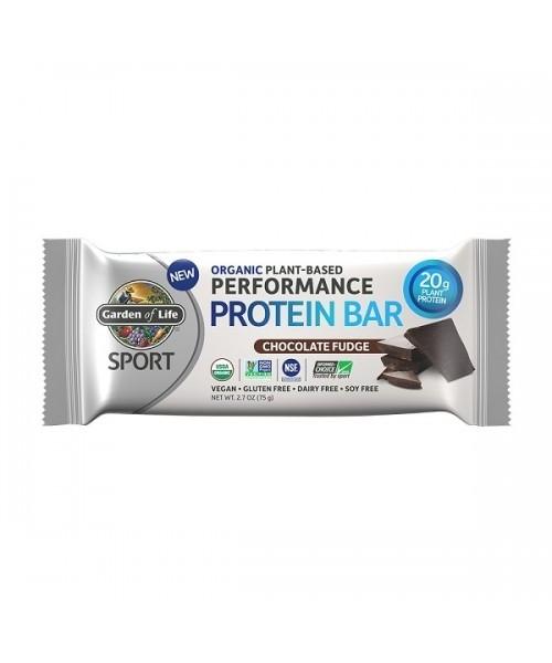 Proteínová tyčinka ŠPORT BIO - čokoláda Fudge 75g