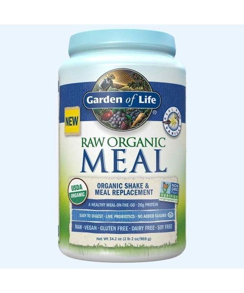 Raw Meal Vanilka Garden of Life - Bio Proteín 969g