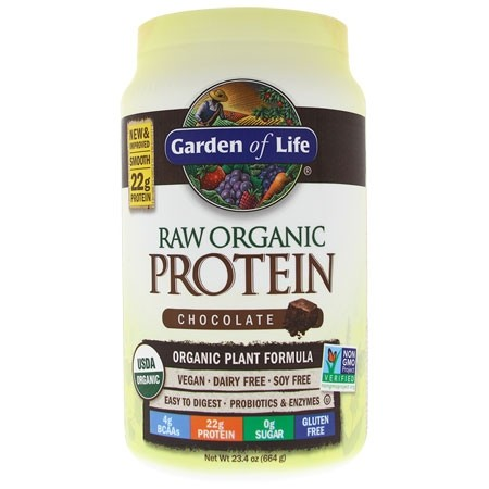 RAW Protein BIO Čokoláda Garden of Life 664 g