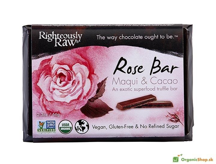 Ruža & Maqui BIO&RAW čokoláda, 6x66g