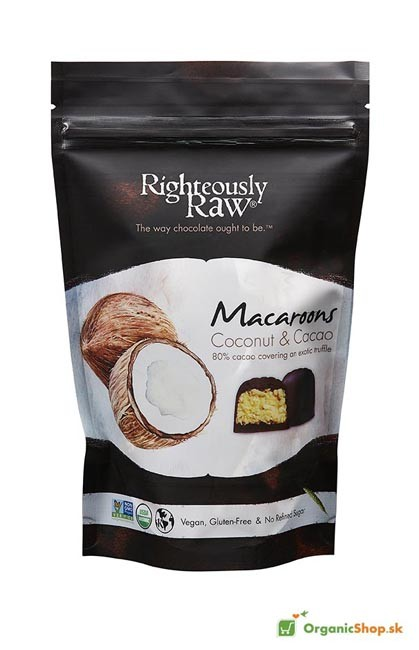 Kokosové makronky BIO&RAW 90g