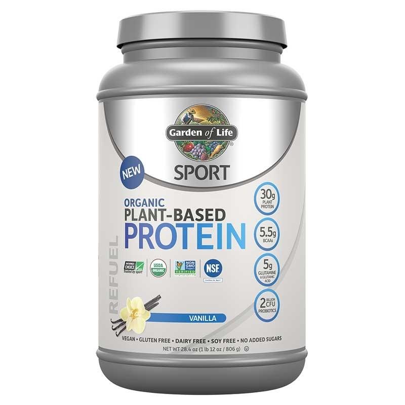 SPORT BIO Plant-Based Protein-Vanilka 806g
