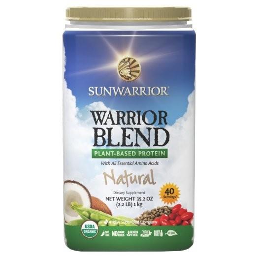 Sunwarrior Blend RAW Proteín Prírodný 1kg