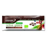 Organic Food Bar Active Greens Probiotic obalená v čokoláde 12 x 68g RAW