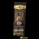 Čokoláda Bio Pure Origine 100% KAKAO BEZ CUKRU MADAGASCAR – 100g
