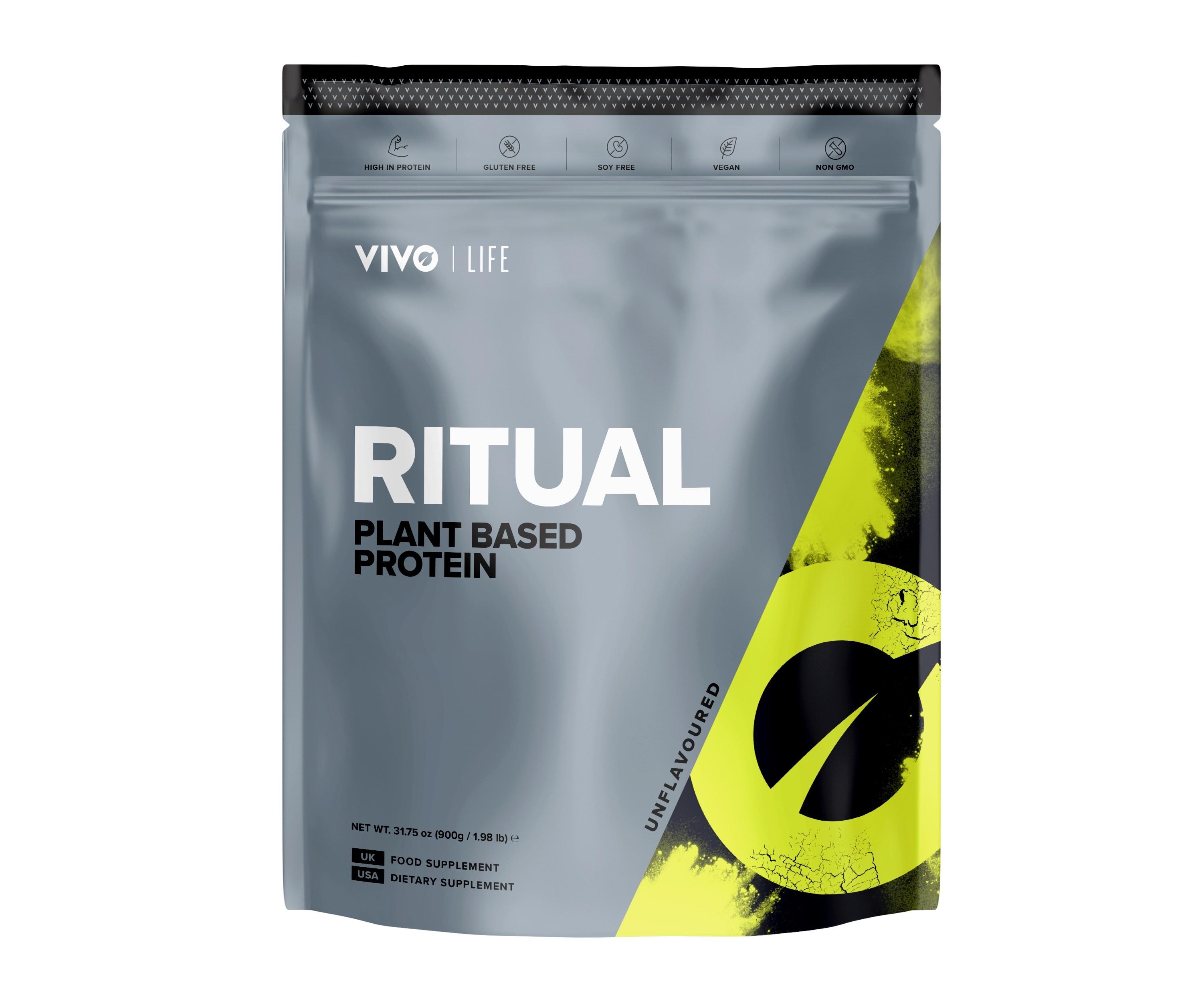 Protein Vivo Ritual vegan Natural 900g