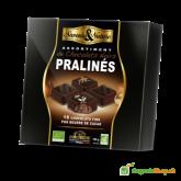 Čokoládové tmavé Bio Pralinky 16kusov – 125g